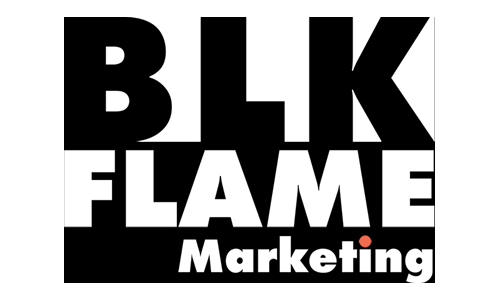 BLK Flame Marketing Logo